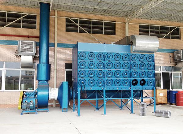 FMC斜插式滤筒除尘器