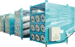 Oblique inserting filter cartridge dust collector