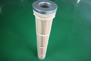 Asphalt warehouse top high temperature resistant filter cartridge