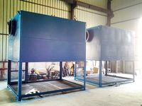 Air compressor pre-fixed self-clean air filter