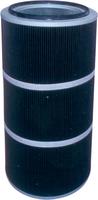 覆膜聚酯纤维除尘滤筒