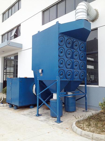 FMC-1型除尘系统